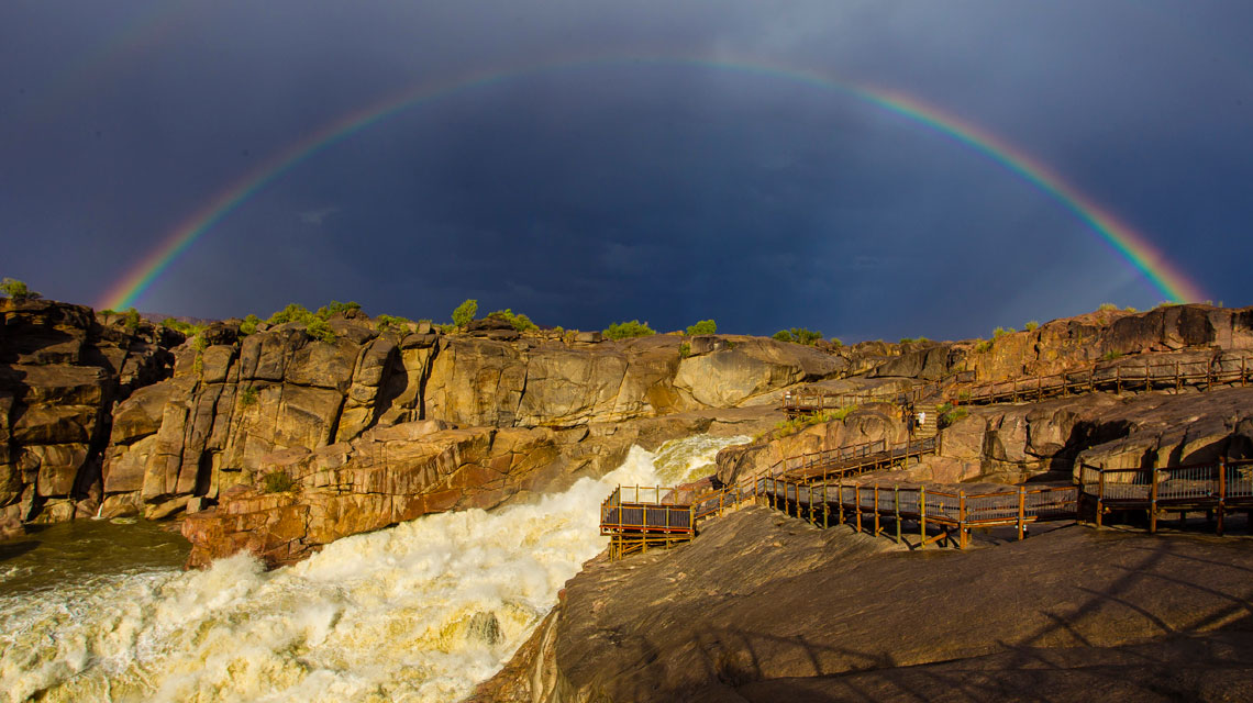 Augrabies-Falls,-Northern-Cape,-Kgalagadi-Transfrontier