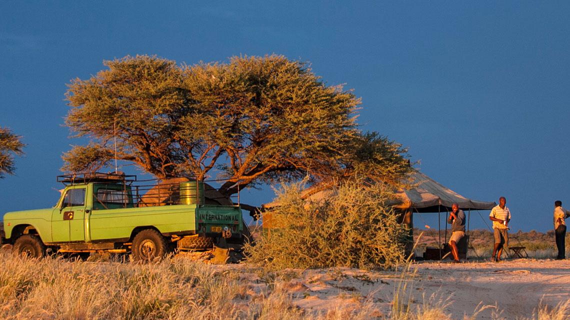 Kalahari-campsite
