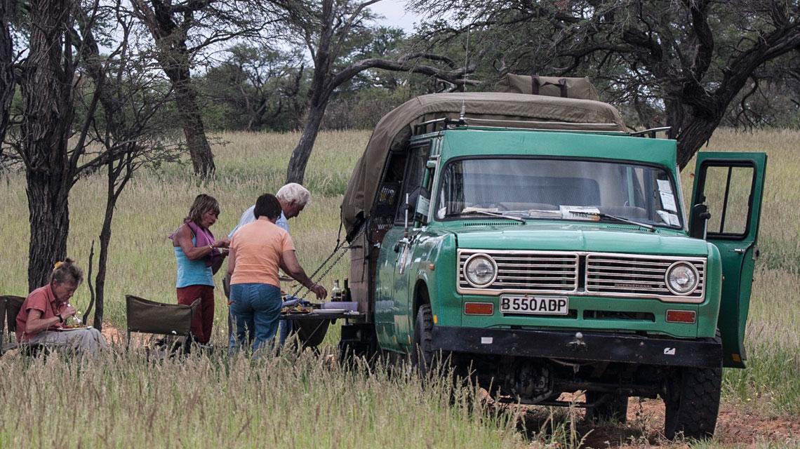 Lunch in Kalahari